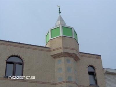 Mosque Al Buraq مسجد, Malines