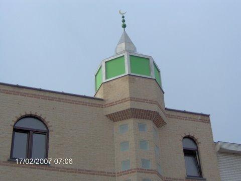 Mosque Al Buraq مسجد, Malines, Belgium