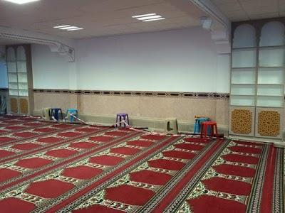 Mosquée El Mouhagirine مسجد, Ixelles
