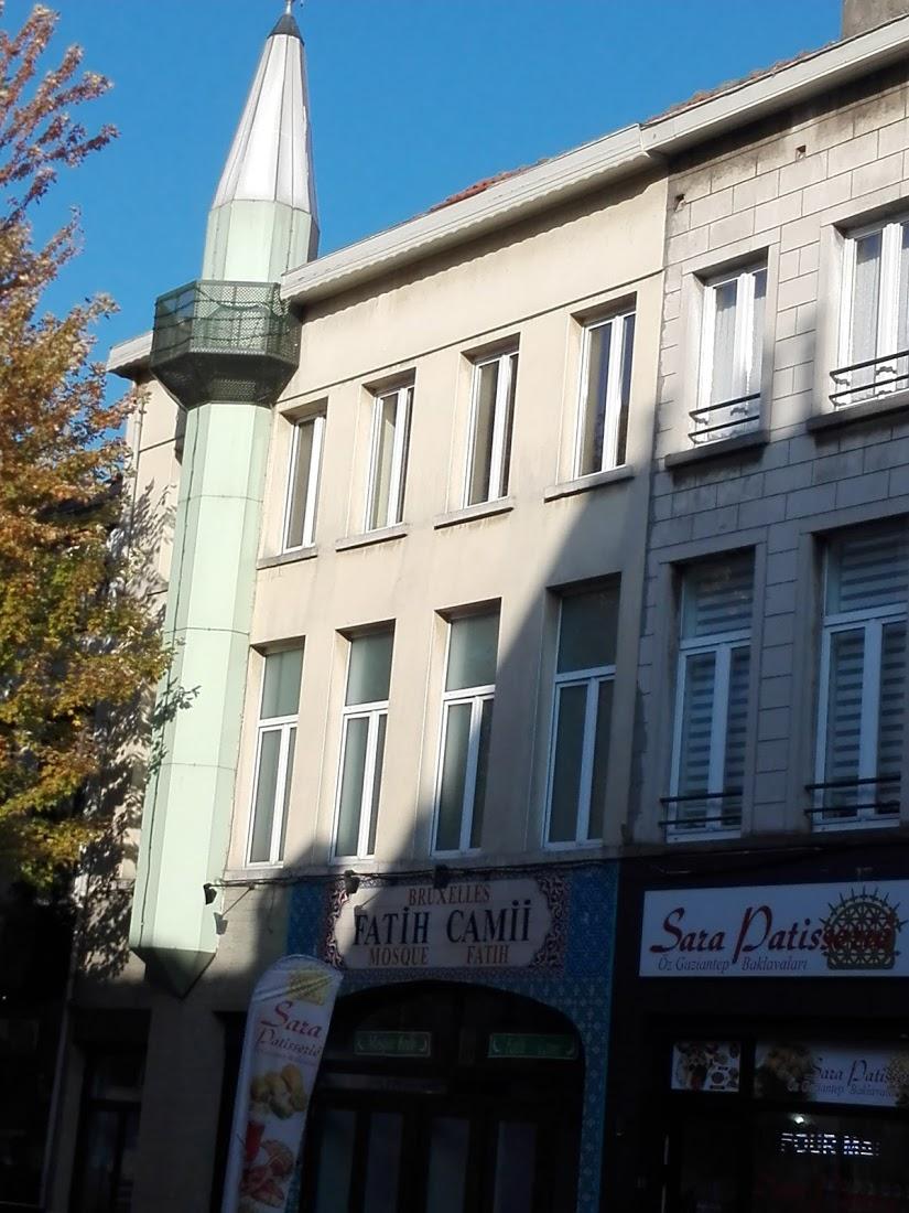 Fatih Camii مسجد, Schaerbeek, Belgium