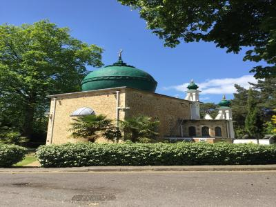 The Shah Jahan Mosque, Woking