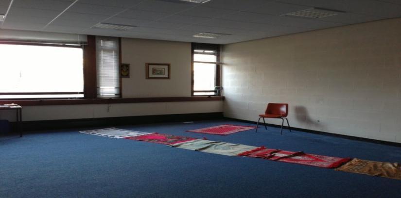 Mosque inside Ulster University, Newtownabbey, United Kingdom