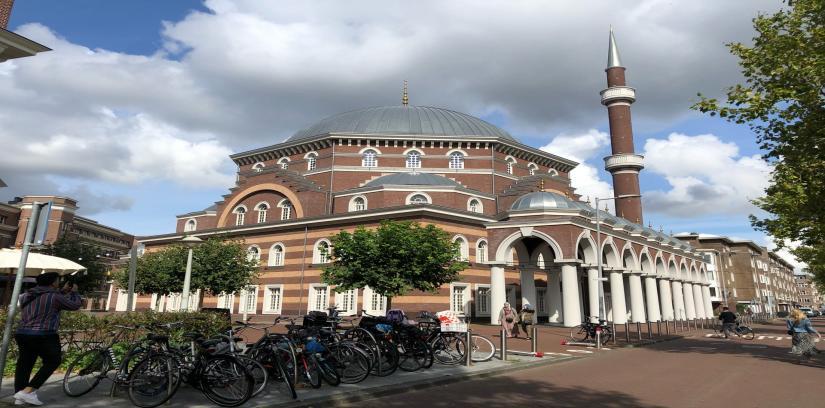 Ayasofya Moskee, Amsterdam, Netherlands