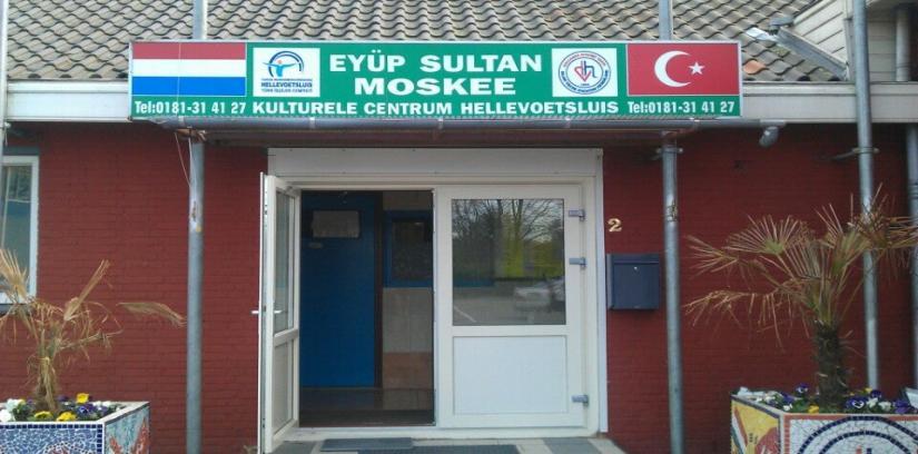 Eyup Sultan Moskee, Hellevoetsluis, Netherlands