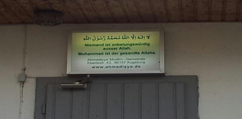Ahmadiyya Muslim Jamaat, Augsburg, Germany