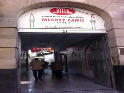 Ditib Merkez Moschee, Frankfurt am Main