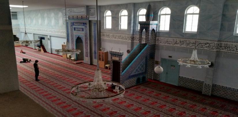 DİTİB Türkisch İslamische Gemeinde zu Nürnberg e.V. Eyüp Sultan Moschee, Nuremberg, Germany