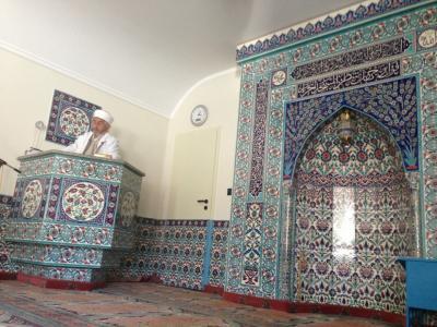 Osmanli Camii, Hof