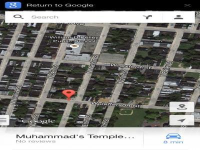 nation of islam mosque #12, Philadelphia