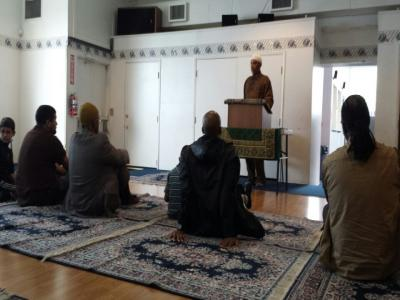 Al Islam  Center Friday Prayer, Seattle