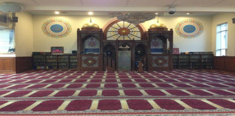 Omar Mosque جامع عمر بن الخطاب, Paterson, United States