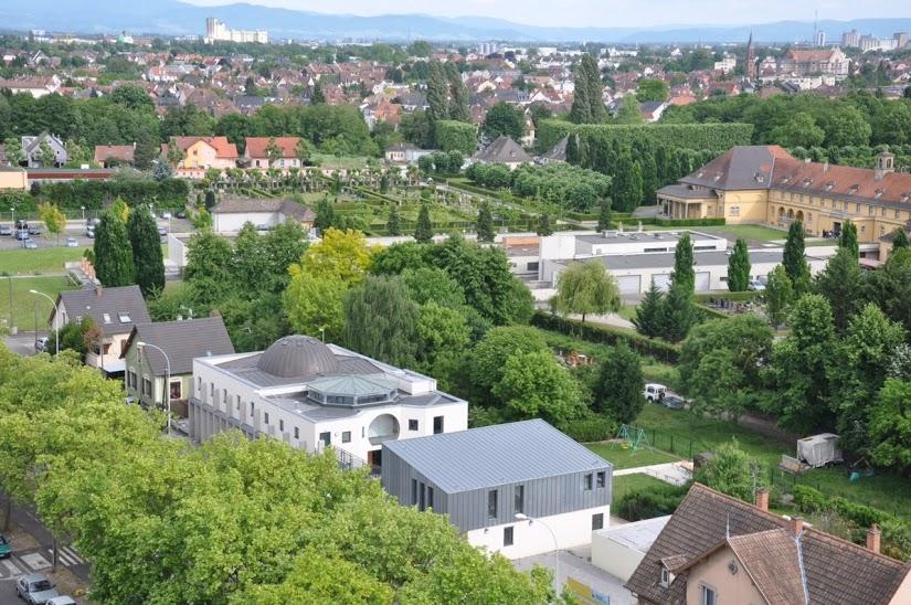 Mosquée de la Robertsau, Strasbourg, France